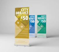 Pull Up Roller Banner Standard 850x2000m
